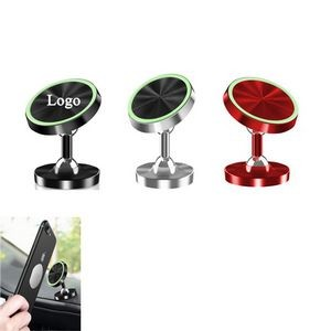 360-Degree Magnetic Luminous Mobile Phone Mount